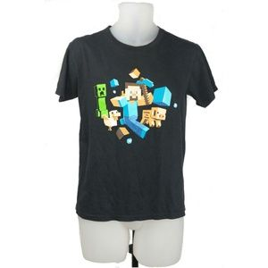 Minecraft Official Steve Creeper T-shirt